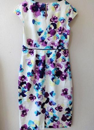 Платье коттон monsoon 12-14 uk3