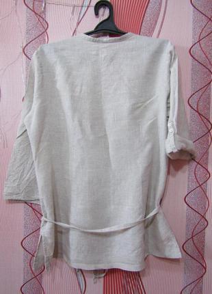 Рубашка 100% лен marks & spencer5