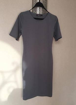 Платье в рубчик1