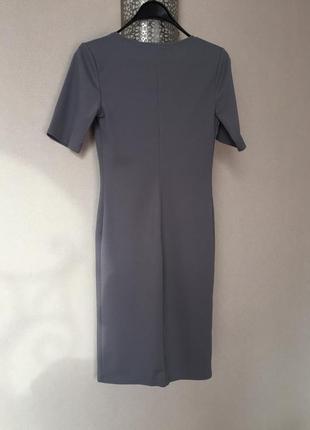 Платье в рубчик2