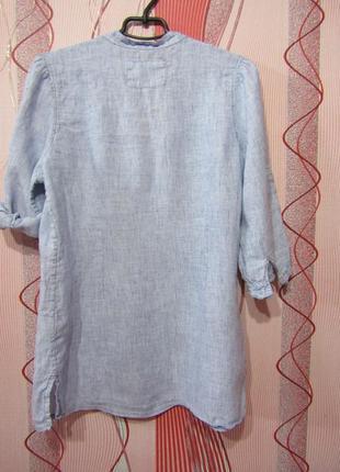 Рубашка лен marks & spencer2