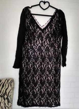 Платье вечернее миди1