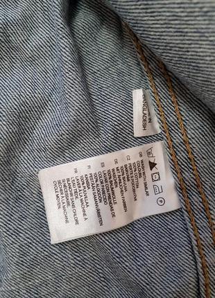Джинсовая куртка divided5