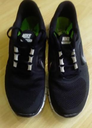 Беговые кроссовки nike free run+3 40р2