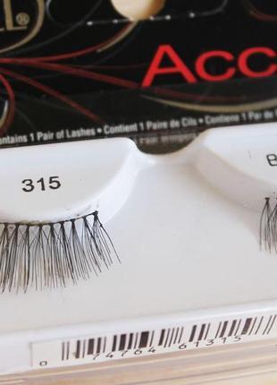 "Ardell accent ""половинки"" ресниц 315 black+ клей в подарок!2"