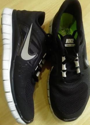 Беговые кроссовки nike free run+3 40р1