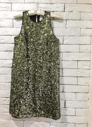 Нарядное, вечернее платье в пайетки pimkie p.s1