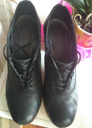 Ботинки кожаные2
