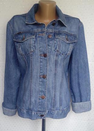 Стильная джинсовая куртка от next (пог-48см)1