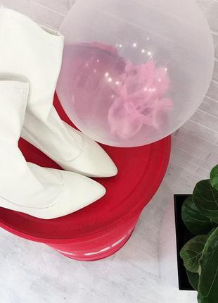 Белые ботинки козачки ковбойки сапоги білі черевички купити в україні2