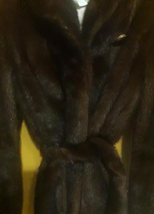 Норковая шуба шикарная2