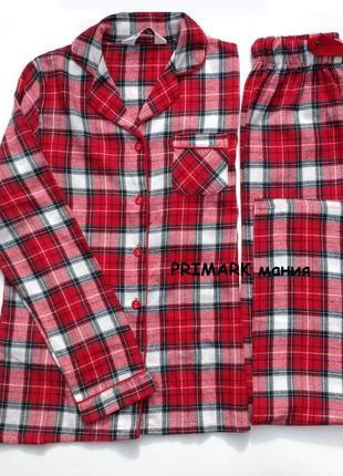 Женская фланелевая пижама все размеры primark3