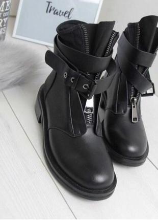 Ботинки женские  пряжка , ботинки женские осень1