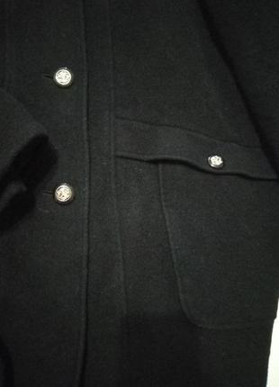 Теплое шерстяное пальто2
