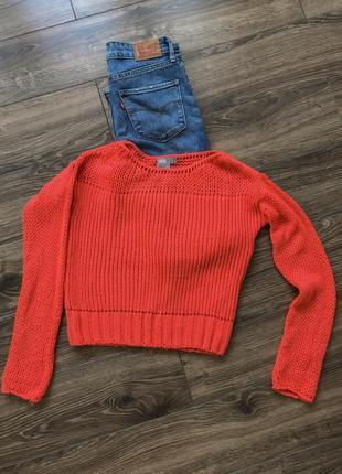 Крутой укорочённый свитер от asos1