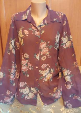 Блуза в цветы1