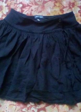 Malibu italia шерсть юбка на запах.1
