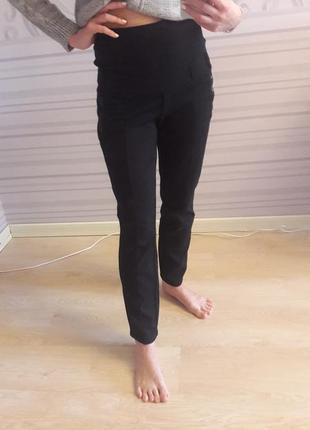 Комфортные зимние брюки для беременных1