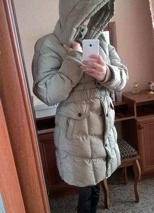 Зимова куртка подовжена2