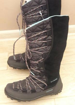 Зимові водонепроникні чоботи columbia, 35 і 39 розміри