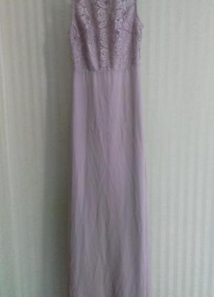 Платье кружевное со шнуровкой tfnc asos4