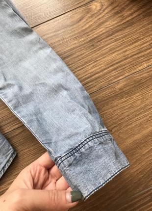 Крутая джинсовая рубашка3