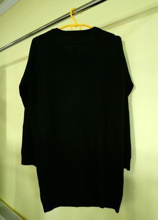 Новогоднее вязаное платье f&f2