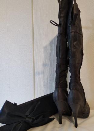 Стильные ботфорты/сапоги на шпильке fennika5