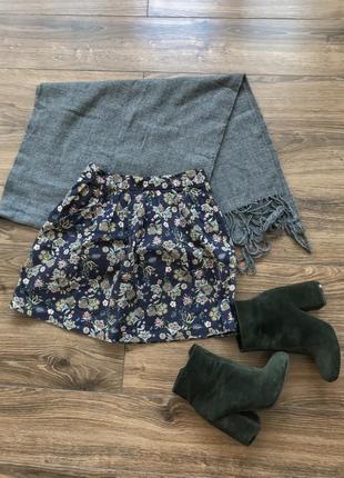 Цветочная юбка на осень1