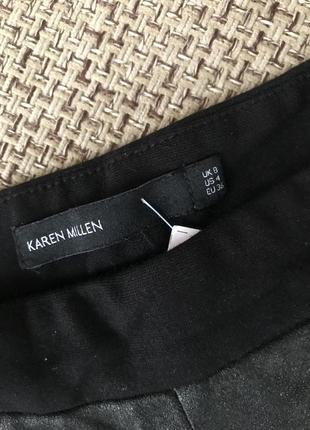 Комбинированные штаны/лосины/леггинсы karen millen4