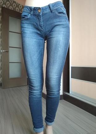 Синие джинсы skiny2