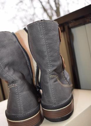 Зимние ботинки полусапоги р.39 25 см риекер rieker как новые5