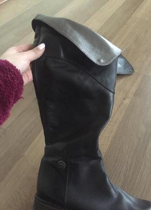 Кожаные сапоги ботинки miss sixty2