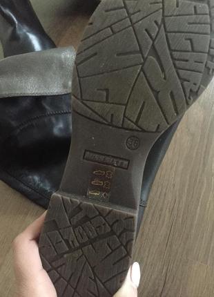 Кожаные сапоги ботинки miss sixty4
