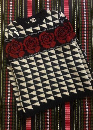 Винтажный свитер forever 211