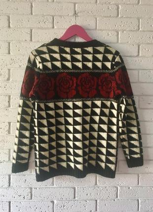 Винтажный свитер forever 212