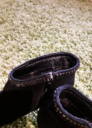 Натуральные замшевые ботиночки3