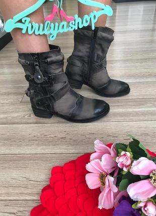 Мега крутые и удобные кожаные ботинки дорогой бренд pakros1