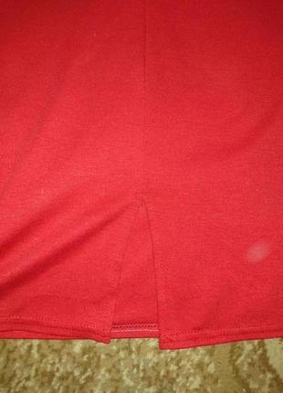 Красное платье с открытой спиной 1+1=3 при покупке 2-х вещей третья в подарок4