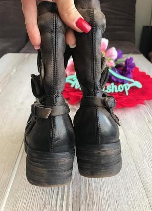 Мега крутые и удобные кожаные ботинки дорогой бренд pakros2