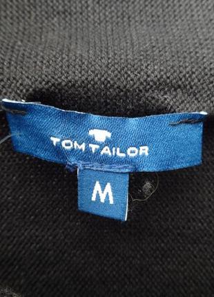 Кардиган две пуговицы на плечах хлопок tom tailor м-л4
