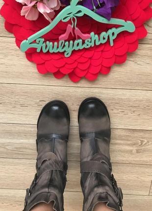 Мега крутые и удобные кожаные ботинки дорогой бренд pakros5