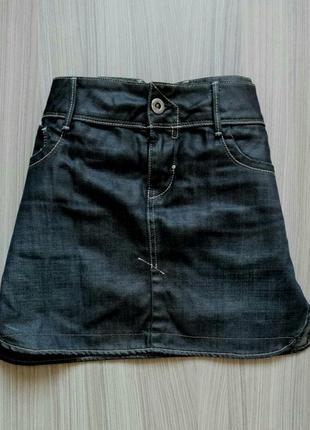 Короткая джинсовая юбка g-star1
