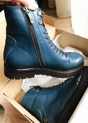 Ботинки натур. кожа зима