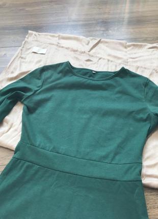 Милое зеленое платье2