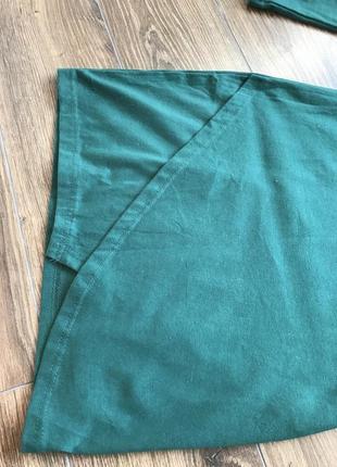 Милое зеленое платье4