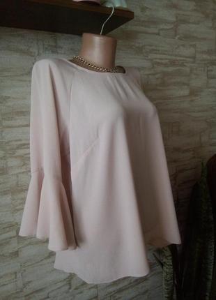 Романтическая пудровая блуза от papaya1