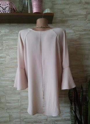 Романтическая пудровая блуза от papaya3