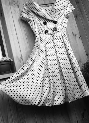 Сукня в стилі ретро 1950-х років/ платье в ретро стиле 1950-х1