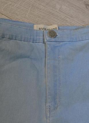 Стильные скинни джинсы с высокого талией3